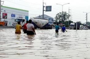 Flooding in Phetchaburi