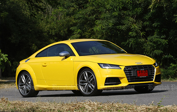 Audi TT S (2017) review