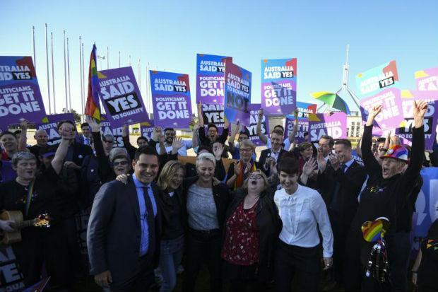 Australian Parliament allows same-sex marriages   Bangkok Post: news