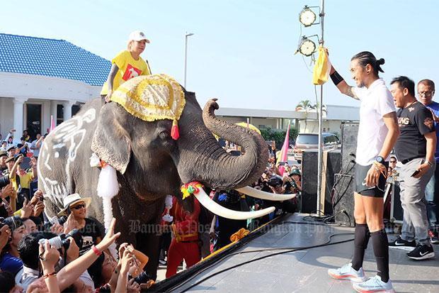 Toon reaches Ayutthaya, donations top B614m | Bangkok Post: learning