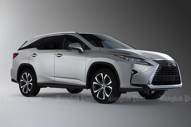 Lexus makes a seven-seat version of the RX | Bangkok Post: auto