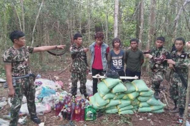 Log poachers caught by camera traps, detained   Bangkok Post: news