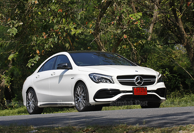 Mercedes-AMG CLA45 facelift (2017) review