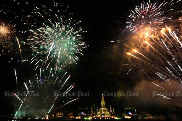 Fireworks allowed for New Year celebrations | Bangkok Post: news