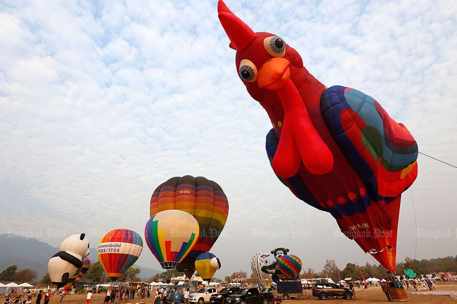 Chiang Mai balloon festival
