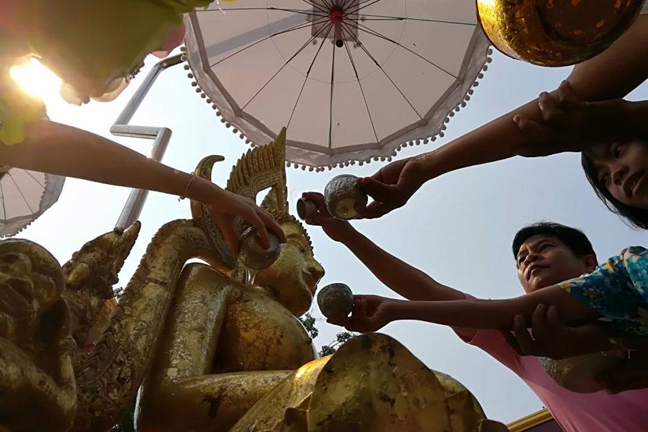 Songkran begins