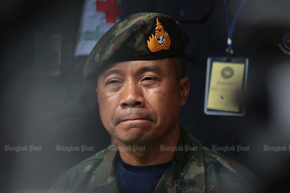 Naval Special Warfare Command chief Rr Adm Apakorn Yukongkaew
