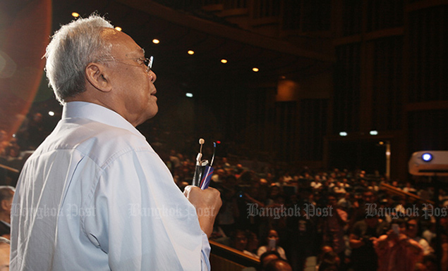 Suthep-led party picks leader, hopes to join government after poll