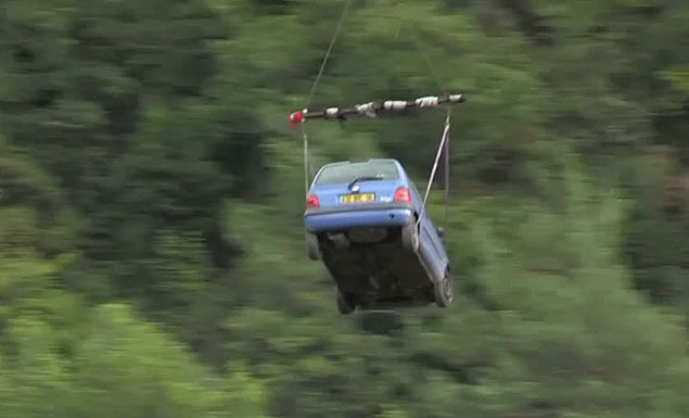 Alpine airlift keeps isolated French villages alive