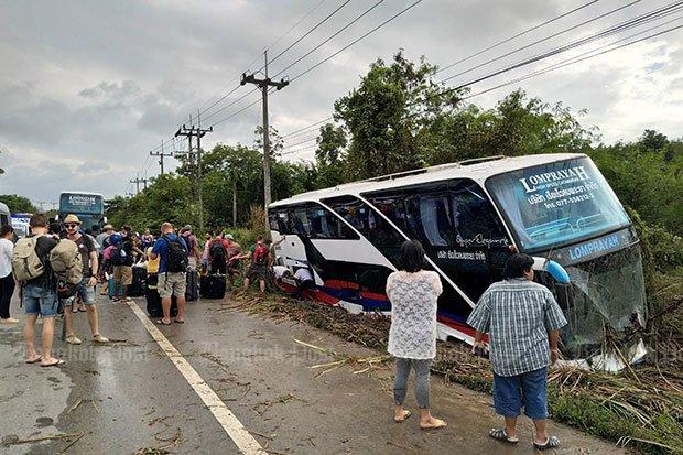 Bus crash driver 'high on meth'   Bangkok Post: news