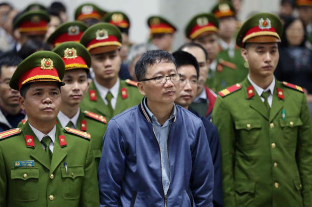 High-profile corruption trial of former oil executive begins in Vietnam