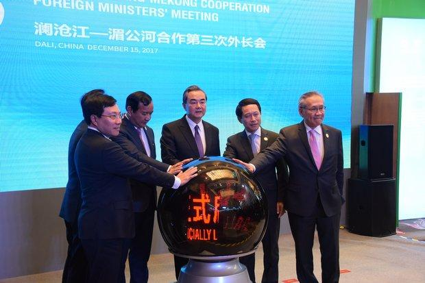 2nd Lancang-Mekong Cooperation leaders' meeting kicks off