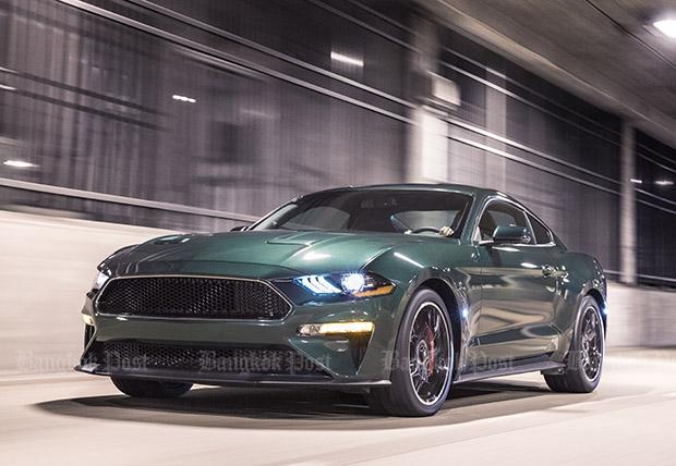 New Ford Mustang Bullitt revealed in Detroit