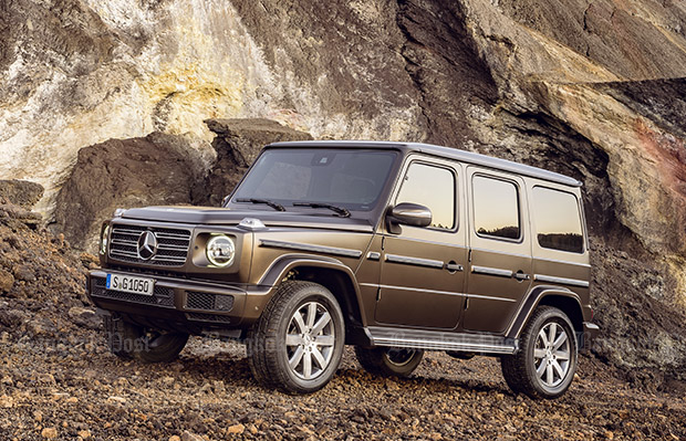 Mercedes-Benz revises G-Class SUV for 2018