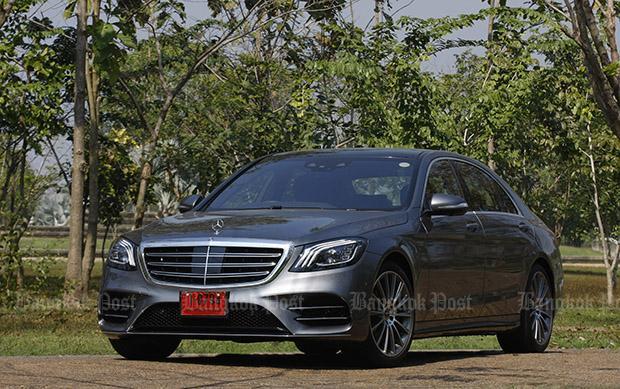 Mercedes benz s350d amg premium 2018 review bangkok for Mercedes benz thailand