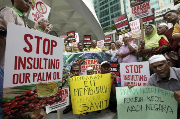 European Union vote to ban palm biodiesel is 'Black Day' for free trade