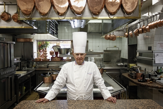 Legendary chef Paul Bocuse dies