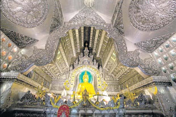 Lanna's silver temple
