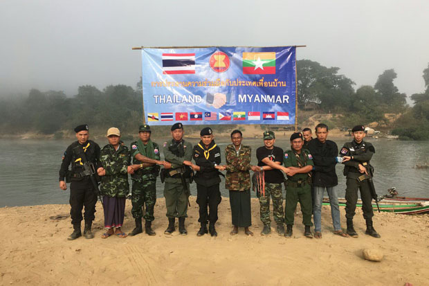 Thailand, Myanmar launch joint border patrol