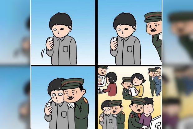 A sad end to popular online comic strip Khai Maew