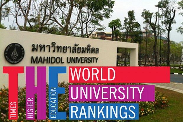Thai university rankings plummet