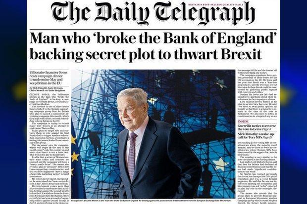 Image result for soros brexit