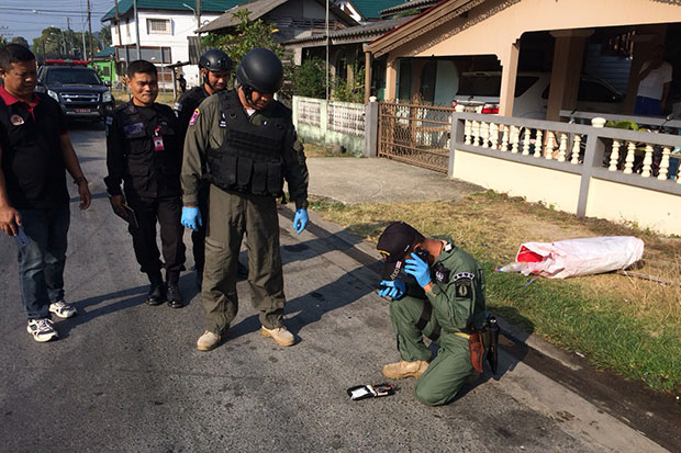 Four bombs explode in Pattani, district chief wounded