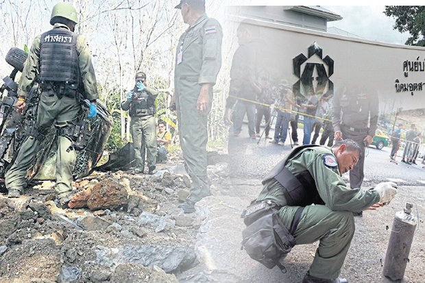 Six Pattani blasts prompt Chinese New Year fears