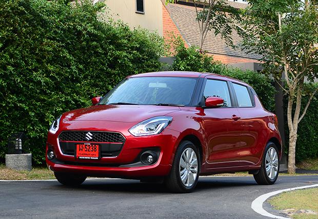 Suzuki Swift 1 2 GLX (2018) review | Bangkok Post: auto