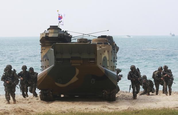 Koreans join Cobra Gold drill