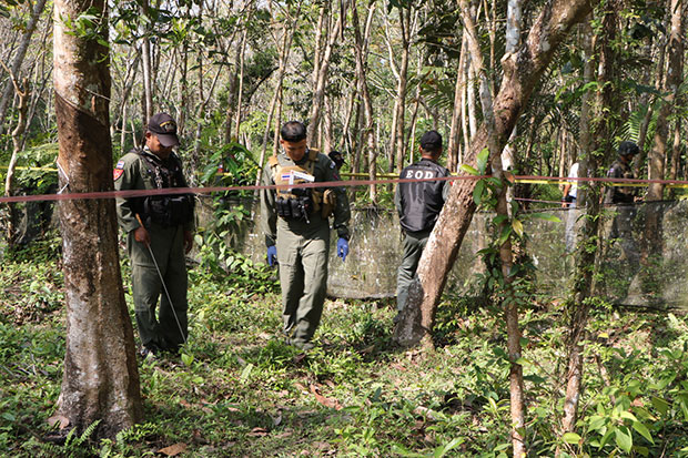 Narathiwat man gunned down while tapping rubber