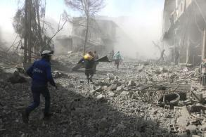 Nearly 200 dead in Syria enclave