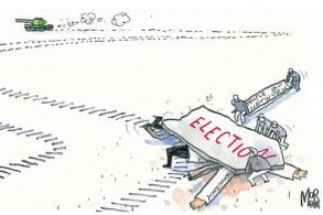 Regime just delaying the inevitable
