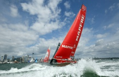 Mapfre leads Volvo fleet into inhospitable waters | Bangkok Post: news