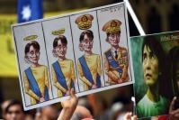 Crushed hopes greet Aung San Suu Kyi in Australia