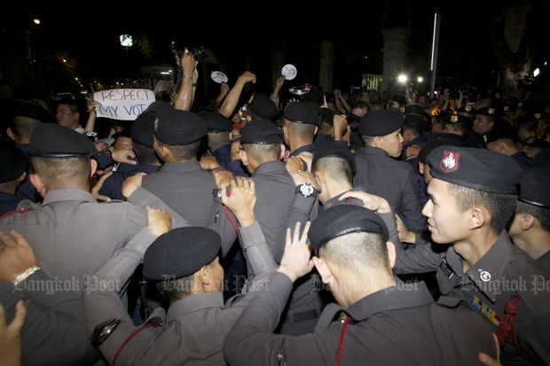 Pro-poll activists pile pressure on NCPO, army