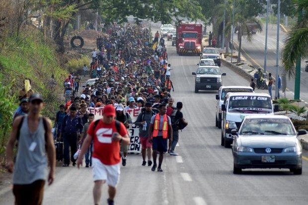 Αποτέλεσμα εικόνας για immigrant caravan mexico