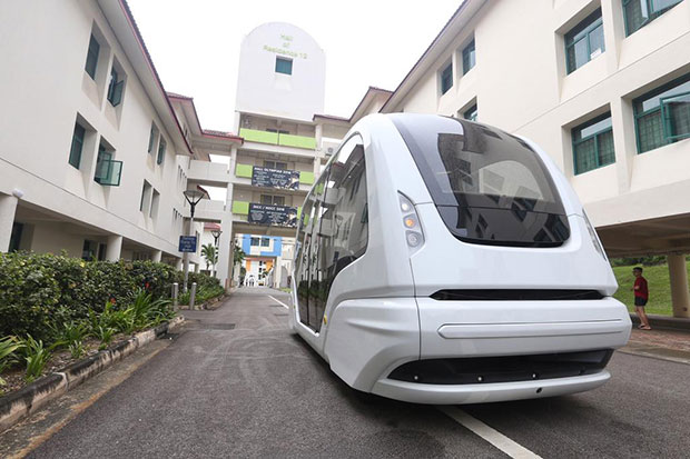 Singapore university to launch driverless bus shuttle service