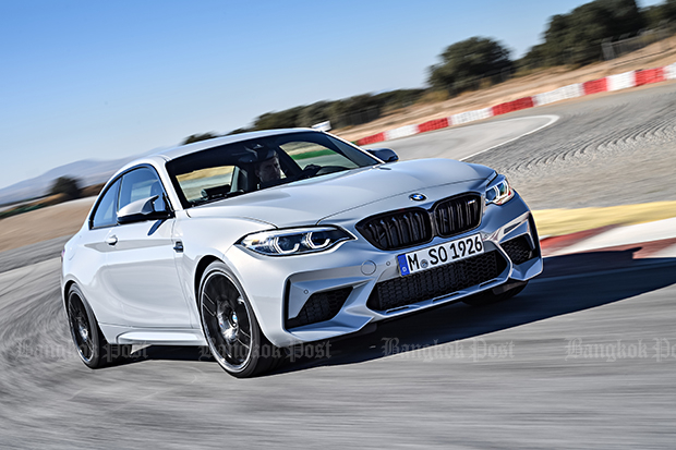 New BMW M2 Competition revealed for 2018