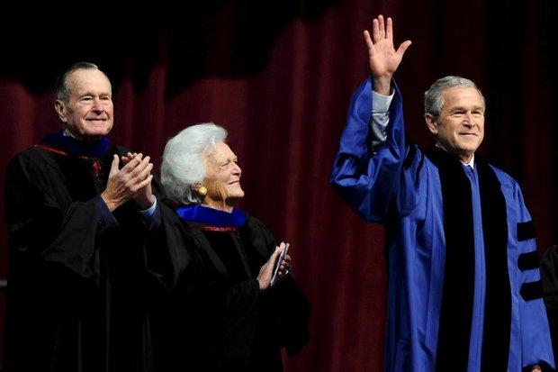 Barbara Bush thorough in preserving precious memories