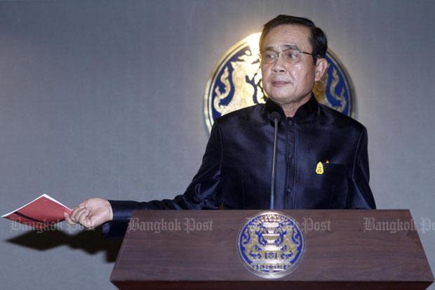Activist: 'Prayut as democracy hero' book a lie