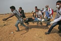 Two killed as more protests, clashes erupt on Gaza border   Bangkok Post: news