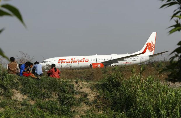 Jet skids off runway causing Kathmandu airport chaos
