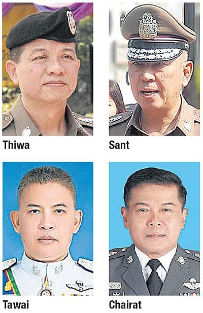 Four police chiefs flunk Songkran 'road safety test'   Bangkok Post: news
