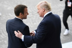 Iran, trade to dominate Macron's US visit | Bangkok Post: news