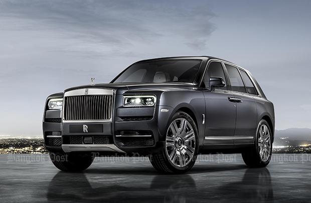 Rolls-Royce Cullinan is billed as world's poshest SUV