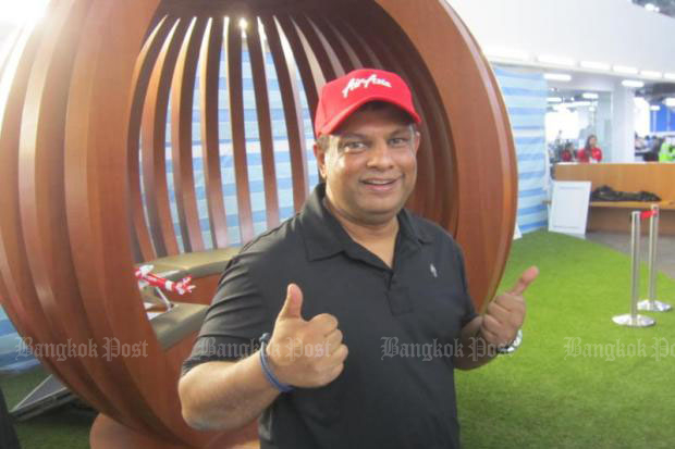 Fernandes cautious on U-tapao