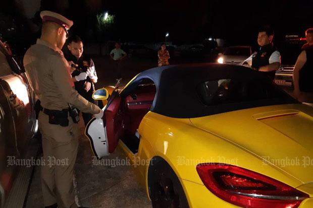 Magic Skin suspect's Porsche ditched in parking lot