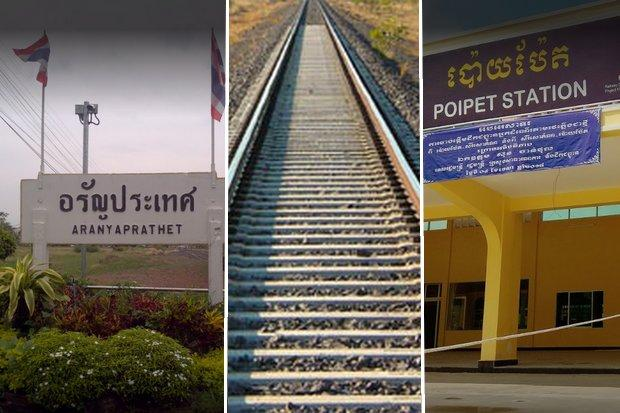 Railway to link up Thailand, Cambodia within 2 months
