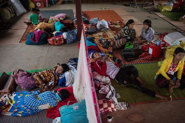 Kachin civilians flee Myanmar's 'forgotten war' | Bangkok Post: news